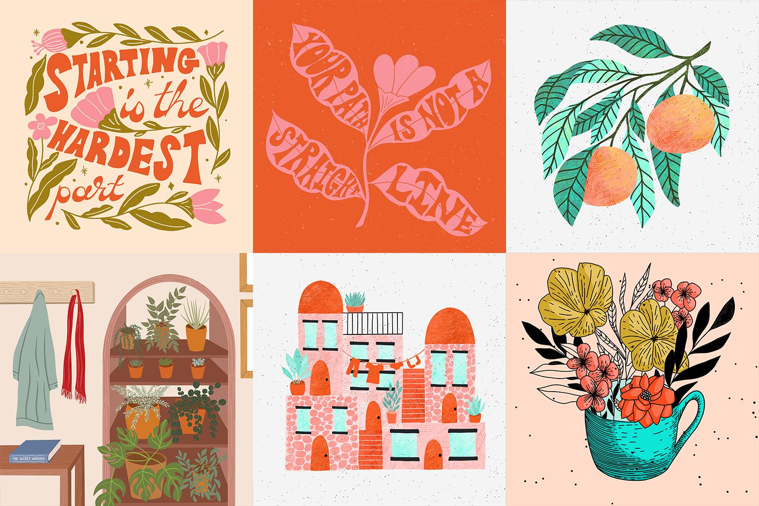 2021 Illustration & Lettering Trends