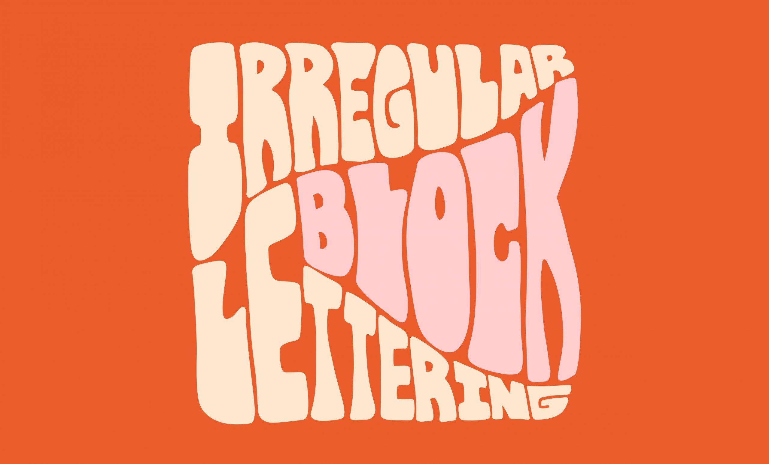 Easy Block Lettering Tutorial